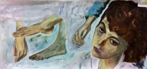 Lars-af-Sillen-baby-olja-studie-kvinna-konst