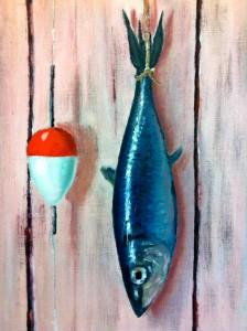 Lars-af-Sillen-fisk-olja-flote-stromming-konst