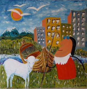 Lars-af-Sillen-lam-olja-agg-herde-landskap-konst