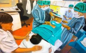 Lars-af-Sillen-operation-olja-sjukhus-konst